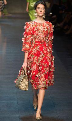 Dolce e Gabbana collezione donna primavera estate 2014