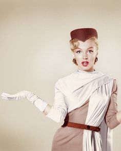 Marilyn Monroe- Sash, Hat, and Gloves