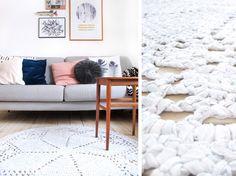 hæklet tæppe til den moderne bolig