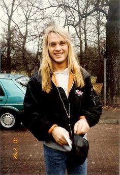 So cute My love Andi Deris Beautiful Smile, Gorgeous Men, 80s Rock, Power Metal, Andreas, Guy Pictures, Metalhead, Metal Bands, Music Is Life