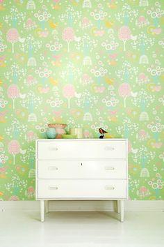 Gröna Tapeter & målarfärg online - Ellos.se