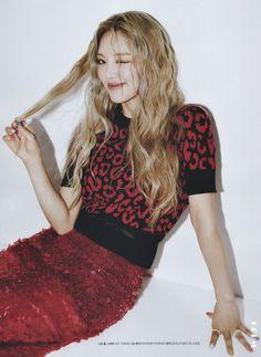 Kim Hyoyeon, Sooyoung, Marie Claire, Magazine Cosmopolitan, Vogue, Shooting Photo, Strawberry Blonde, Girls Generation, Snsd
