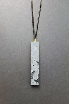 Cement necklace