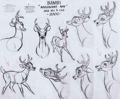 adolescent Bambi