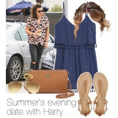 Summer's evening date with Harry