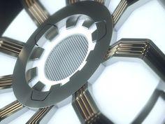 Iron Man's Arc Reactor on Behance