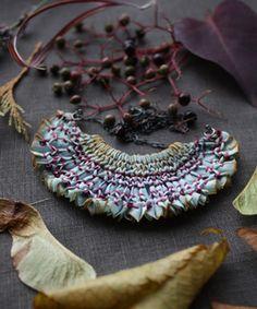 first blackberries necklace ~ tinctory