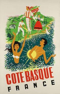 Cote Basque, France