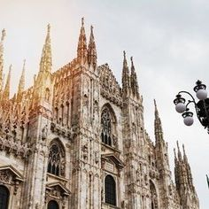 ⛪CATTEDRALE - CATHEDRAL⛪⠀ This is the stunning Duomo in Milan. Duomo technically means a church that is built in the form of a cathedral even if it isn't used as such. Either way it's just a gorgeous iconic Italian building and for all the criticism o Milan Duomo, Year Of Dates, Italian Beauty, London Bridge, Paradis, Travel Inspiration, Design Inspiration, Adventure Awaits, Italy Travel