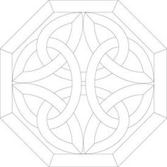 Stained Glass Celtic Knot Pattern   Other Files   Patterns and Templates