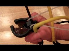 How to make a Sling Bow - YouTube