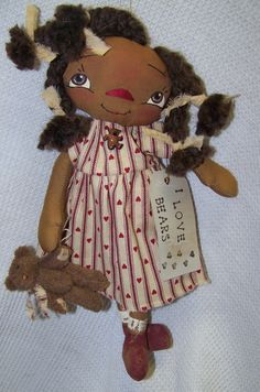 My Teddy Bear Annie can order at SimplyTattered