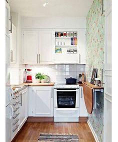 Resultado de imagen para cocinas pequeñas sencillas
