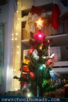 Rv Christmas Tree Get Ornaments From Places We Have Been To Put On Our Camping