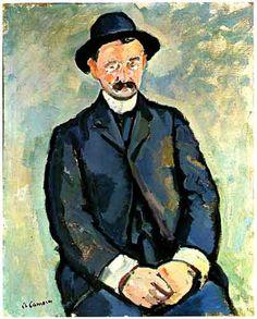 Charles Camoin Portrait of the Artist Albert Marquet, 1904 Henri Matisse, Modern Artists, French Artists, Art Fauvisme, Georges Pompidou, Pompidou Paris, Georges Braque, Post Impressionism, Illustrations