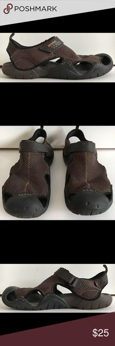 67d57914022f CROCS Men s SWIFTWATER Sz 13 Waterproof Sandals Great condition and  quality. See photos for details