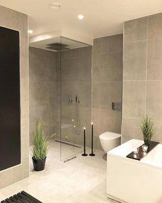 64 Ideas For Bathroom Lighting Diy Glass Doors Bathroom Inspo, Bathroom Interior, Modern Bathroom, Decoration Design, Decor Interior Design, Interior Decorating, Inspire Me Home Decor, True Homes, Home Decor Shops