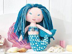 Mermaid Crafts To Make Your Heart Swim - Free Craft Project – - Crafts Beautiful Magazine