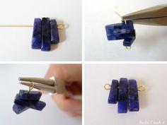 DIY Trapeze Earrings
