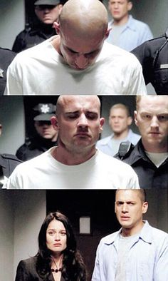 - I can't help but be sad at this photo look at Michael Best Series, Tv Series, Prison Break 2, Michael And Sara, Mick Rory, Broken Pictures, Leonard Snart, Dominic Purcell, Wentworth Prison