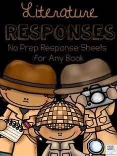 Responding to literature is one of the hardest tasks new readers and writers learn to undertake.  These worksheets, which are perfect for writing centres and scaffolding for your students, are designed to work with any story or book that your students may be working on at any time.