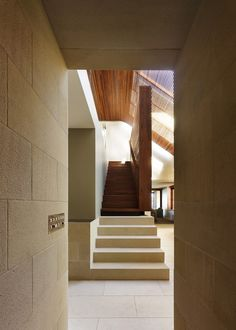 Image 4 of 26 from gallery of Pittwater House / Andrew Burges Architects. Photograph by Peter Bennetts Screens, Stairs, House, Gallery, Home Decor, Fotografia, Canvases, Roof Rack, Stairways