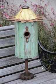 Tin Roof Bird House