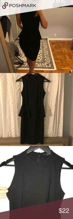 BRAND NEW ZARA MIDI DRESS Zara black midi dress. Brand new, never wore it, but I removed the tags. I'm 5'4 tall, and 128lbs and fits as in the pics. If you are up to 15 lbs heavier, it will fit perfect too, b/c I bought it when I was 145lbs and it fitted great. Zara Dresses Midi