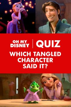 When it comes to sorting between Tangled characters' lines, do you, like mother, know best? These snippets of dialogue are sure to leave your memory tangled (… we had to). See if you can identify who said which Disney quote in this end-splitting Disney quiz!
