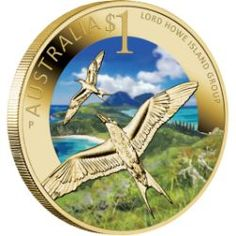 Celebrate Australia – World Heritage Sites – Lord Howe Island Group 2012 $1 Coin