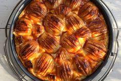Cremiger Apfel-Schmand-Kuchen