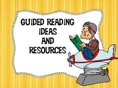 Get LOTS of great ideas to use with your guided reading groups right here!