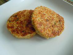 Cheesy Quinoa Burgers