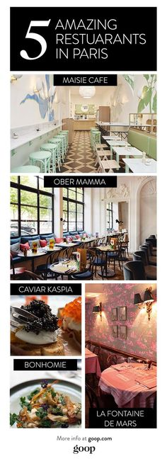 A glimpse into what Paris Fashion Week is really like, plus the must-go restaurants.