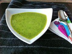 15-Minute Spring Pea and Pesto Soup (Nigella Lawson)