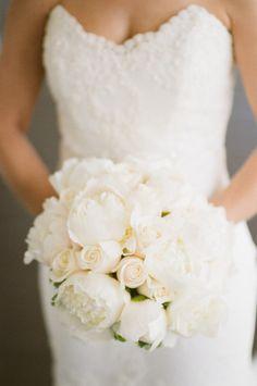 Classic elegance- peonies and roses