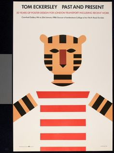 Tom Eckersley, Past and Present exhibition poster