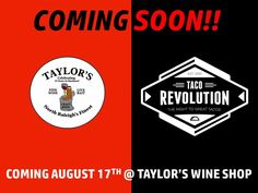 Taco Revolution coming to Taylor's Wine Shop!