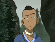 Sokka: sarcastic, sometimes crazy, but always making this face... and no one gets the joke.