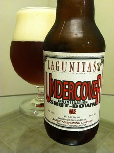 BrewChief.com Review of Undercover Investigation Shut-Down Ale (Lagunitas Brewing Co.) : The longer you spend around a group of people, the more personality traits you begin to notice. The same goes for breweries in the craft beer world. Some are hard working and well respected, some are laid back and care free. Some make you want to scream while others make you want to laugh. In the case of the Lagunitas Brewing Company out of Petaluma, California, they are the brewery equivalent of that...