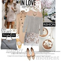 """Date Night Dressing with The RealReal: Contest Entry"" by zoenian on Polyvore"