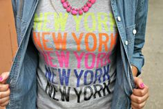 we love how Jessica of @bowsandsequins announced her move to NYC!