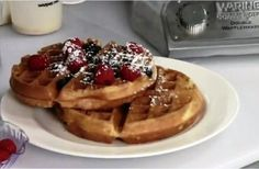 #Waring Commercial Waffle Makers Are Productive With Small Footprint #waffles #foodservice #restaurant