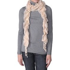 Journee Collection Womens Ruched Detail Scarf
