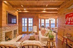 casas de madeira estilo rústico cozinha