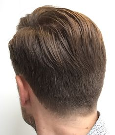 Back view from my fresh haircut! #menshair #barbershop #fade #taper #pompadour #layrite