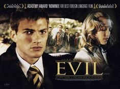 Ondskan [Evil] 2003	[imdb 7.8]	VERY GOOD 3 guldbagges – incl best film. Gustaf Skarsgård was widely praised for his performance in Peter Weir's drama The Way Back (2010) and will play the Swedish explorer Bengt Danielsson in the Norwegian movie Kon-Tiki (2012). Stellan Skarsgård. Alexander Skarsgård. Bill Skarsgård is now playing a recurring character in TV horror series Hemlock Grove (2012).