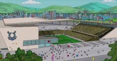 O episódio do Simpsons que acabou de ser exibido nos EUA agora a noite mostra o jogo inaugural da Copa de 2014 na Arena do Corinthians, tend...