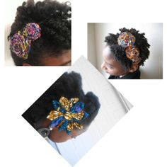 """""""Hair accessories in African print..insp@Tswana designs"""" by introducing-neo on Polyvore"""