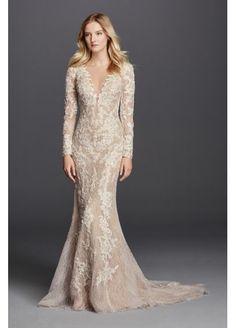 http://www.davidsbridal.com/Product_long-sleeve-sheath-with-illusion-v-neckline-swg719_wedding-dresses-all-wedding-dresses $1350.00 :